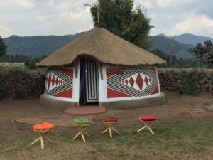 Inside Iby'iwacu cultural village